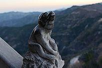 12生肖石刻的猴