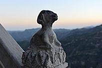 12生肖石刻的羊