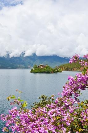 原创摄影图 自然风景 江河湖泊 湖中岛屿