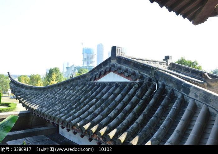 仿古建筑屋顶