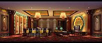 复古式酒席图片