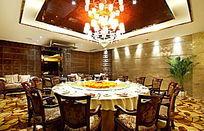 酒店餐桌图