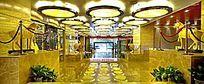 酒店大厅人口摄影图