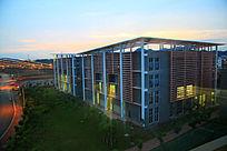 南宁职业技术学院机电学工程学院特色建筑