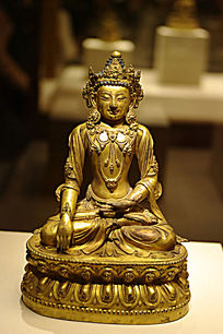 铜释迦摩尼佛坐像