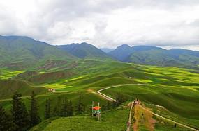 壮美的卓尔山风景