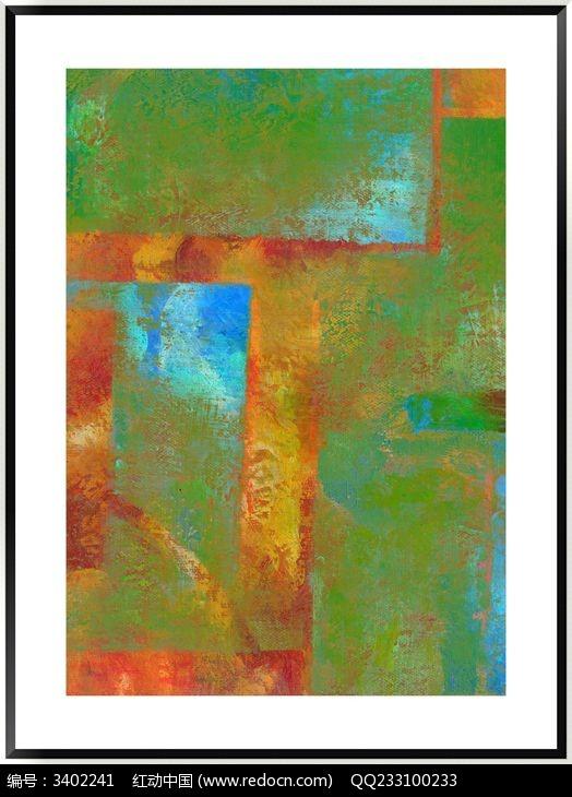 抽象画 色块 装饰画图片,高清大图_插画绘画素材