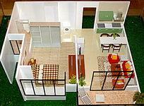 房地产样板房建筑模型图片