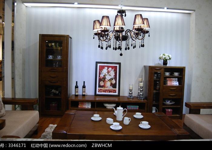 经典实木客厅家具