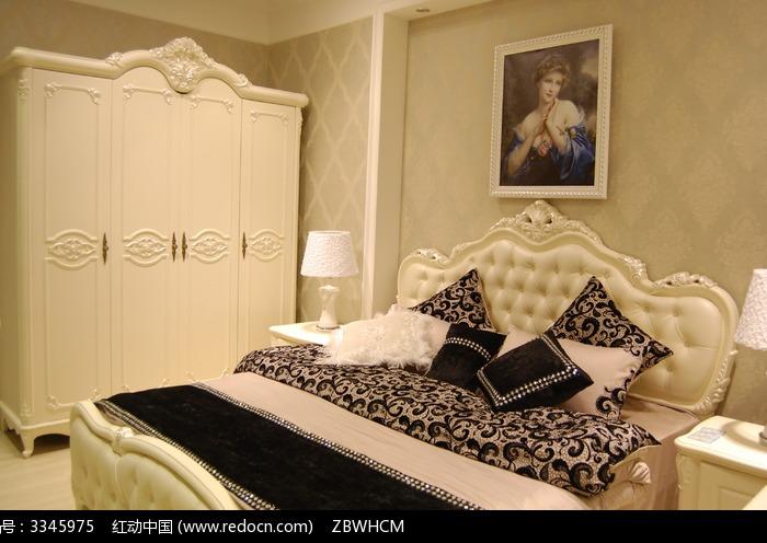 欧式古典卧室衣柜图片,高清大图_家庭装潢素材
