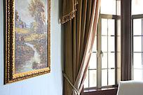 室内装饰靠窗图片