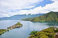 泸沽湖里格岛
