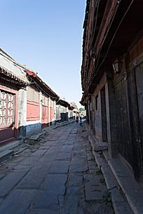 古街道石板路