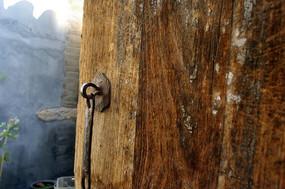 古朴的木门