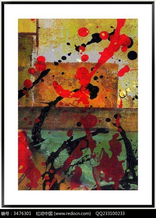 色块抽象画 画 无框画图片,高清大图_插画绘画素材