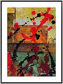 色块抽象画 画 无框画