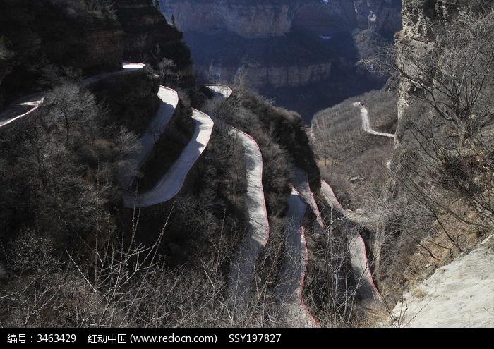 太行山盘山公路图片