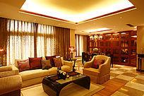 黄色调室内装饰