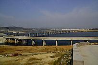 建成后的十堰郧阳岛立交桥