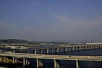 十堰郧阳岛立交桥