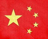 中国国旗特写图片