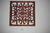 团龙图传统花纹镂空木雕