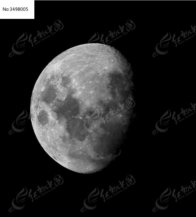 月亮特写图片