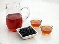 玻璃茶壶茶杯图片