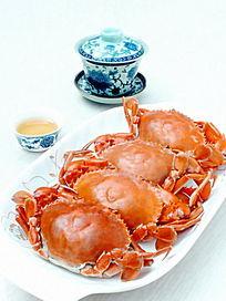 美食美味螃蟹特写图片