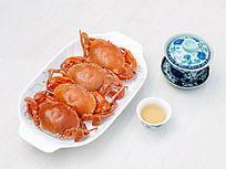 美食美味螃蟹图片