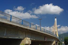 不锈钢钢管的人行道护栏桥梁