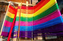 大理古城的织布机