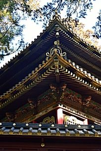 中国古代木质建筑的房梁处的结构叫什么图片