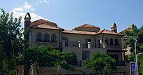 中西结合的傣式别墅建筑