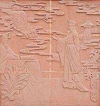 春申广场文化墙浮雕