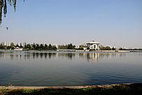 淮安周恩来纪念馆远处风景摄影