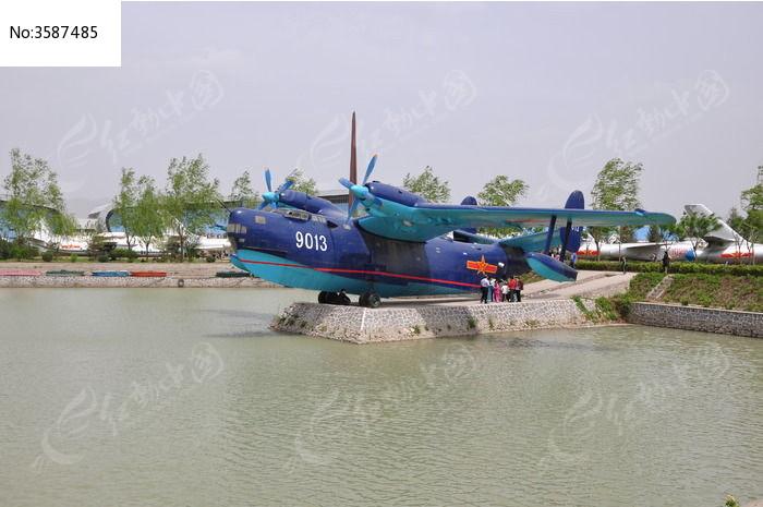 水上飞机远景图片,高清大图