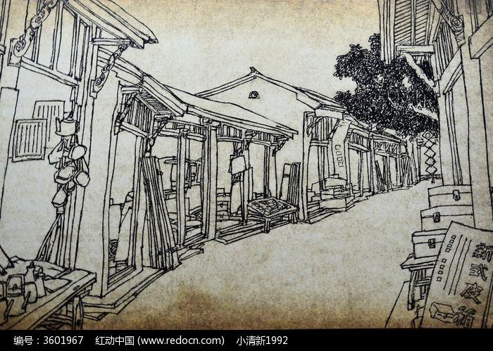 打铜巷手绘