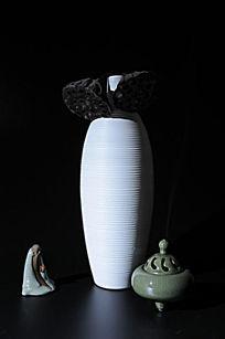 禅意图片花瓶