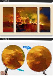 抽象 油画 装饰画 无框画