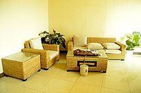 家居沙发组合图片