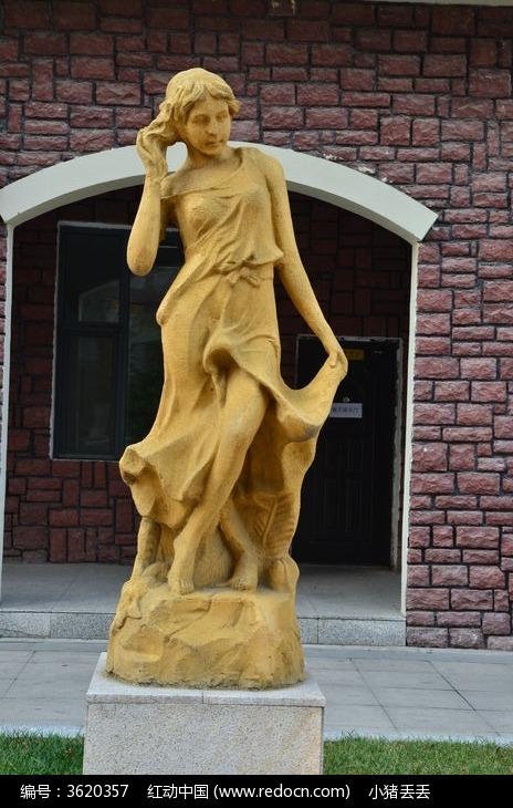 欧式风格人物雕塑图片