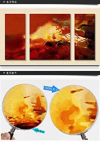 无框抽象油画