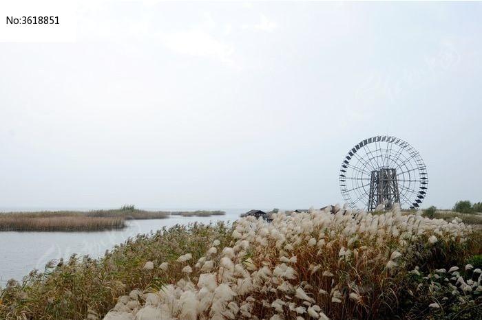 远眺大水车和太湖水系