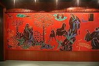古代阿胶演变文化墙