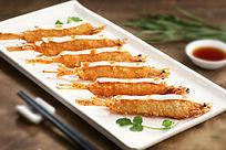 餐饮美食图片菜肴图片串烤虾