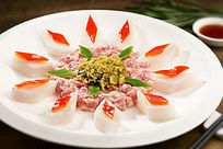 餐饮美食图片菜肴图片糯米蒸肉饼