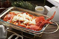 餐饮美食图片菜肴图片上汤澳洲龙虾