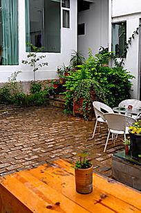 别墅室内花园景观