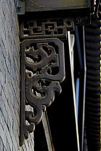古镇建筑路灯装饰